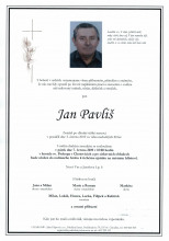 Př. Jan Pavliš - parte